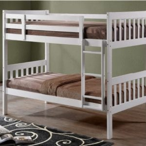 Lydia Bunk Bed White