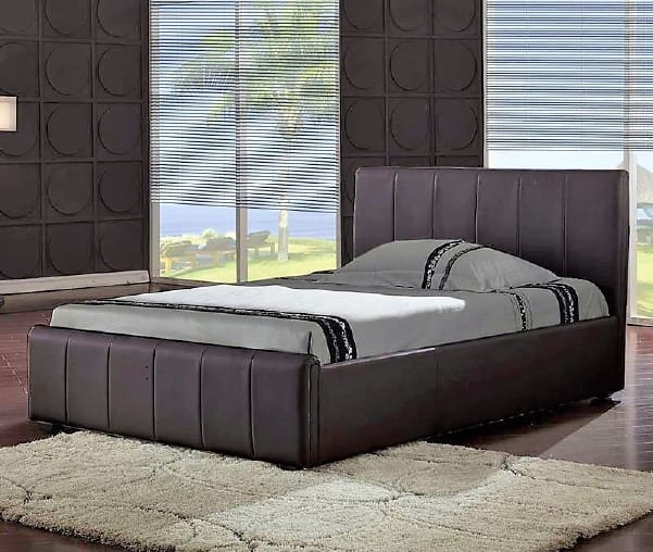 Pisa Brown Bed Frame